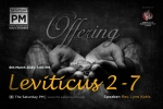Leviticus 2-7 Part 1 - Offering | with Rev. Lynn Kohls