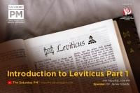 Leviticus Intro Part 1