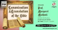 Canonisation of the Bible